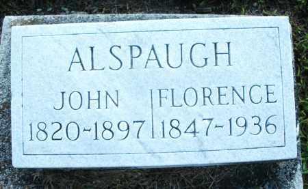 ALSPAUGH, FLORENCE - Montgomery County, Ohio | FLORENCE ALSPAUGH - Ohio Gravestone Photos