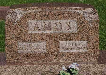 AMOS, LAURA - Montgomery County, Ohio | LAURA AMOS - Ohio Gravestone Photos