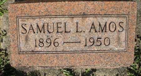 AMOS, SAMUEL L. - Montgomery County, Ohio | SAMUEL L. AMOS - Ohio Gravestone Photos