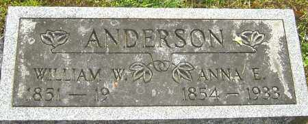 ANDERSON, ANNA ELIZABETH - Montgomery County, Ohio   ANNA ELIZABETH ANDERSON - Ohio Gravestone Photos