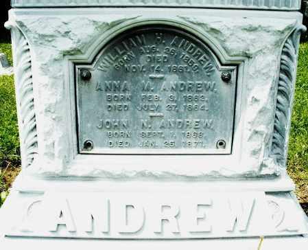 ANDREW, JOHN N. - Montgomery County, Ohio | JOHN N. ANDREW - Ohio Gravestone Photos