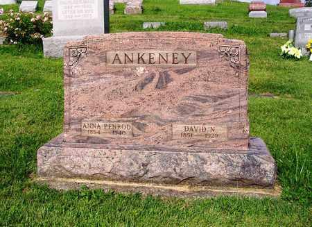 ANKENEY, ANNA - Montgomery County, Ohio | ANNA ANKENEY - Ohio Gravestone Photos