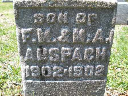 ANSPACH, LESTER P. - Montgomery County, Ohio | LESTER P. ANSPACH - Ohio Gravestone Photos