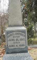 ANSPAUGH, DANIEL - Montgomery County, Ohio | DANIEL ANSPAUGH - Ohio Gravestone Photos
