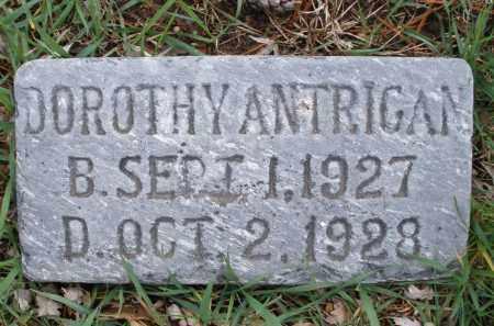 ANTRIGAN, DOROTHY - Montgomery County, Ohio | DOROTHY ANTRIGAN - Ohio Gravestone Photos