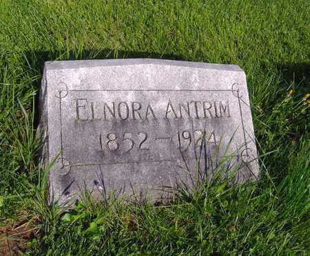 ANTRIM, ELNORA - Montgomery County, Ohio   ELNORA ANTRIM - Ohio Gravestone Photos
