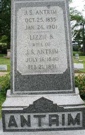 ANTRIM, J. S. - Montgomery County, Ohio | J. S. ANTRIM - Ohio Gravestone Photos