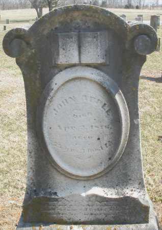 APPLE, JOHN - Montgomery County, Ohio | JOHN APPLE - Ohio Gravestone Photos