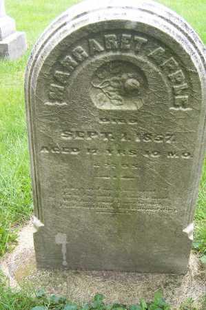 APPLE, MARGARET - Montgomery County, Ohio | MARGARET APPLE - Ohio Gravestone Photos