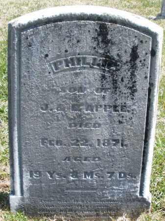 APPLE, PHILLIP - Montgomery County, Ohio   PHILLIP APPLE - Ohio Gravestone Photos