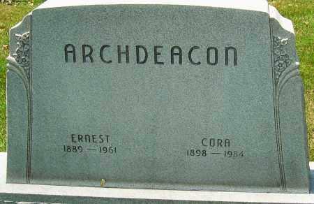 ARCHDEACON, ERNEST - Montgomery County, Ohio | ERNEST ARCHDEACON - Ohio Gravestone Photos