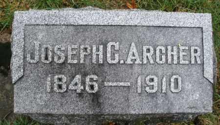 ARCHER, JOSEPH G. - Montgomery County, Ohio   JOSEPH G. ARCHER - Ohio Gravestone Photos
