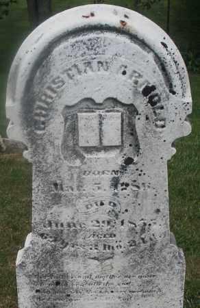 ARNOLD, CHRISTIAN - Montgomery County, Ohio | CHRISTIAN ARNOLD - Ohio Gravestone Photos