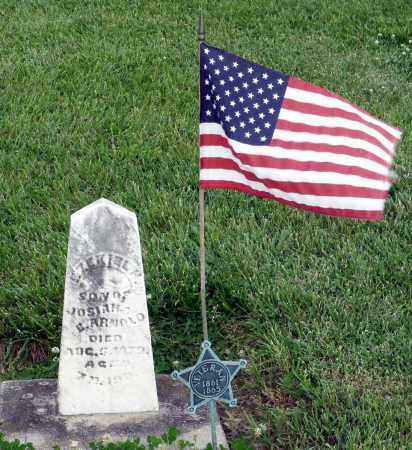 ARNOLD, EZEKIEL H. - Montgomery County, Ohio | EZEKIEL H. ARNOLD - Ohio Gravestone Photos