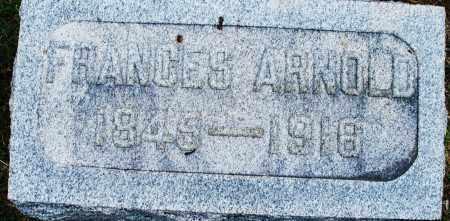 ARNOLD, FRANCES - Montgomery County, Ohio | FRANCES ARNOLD - Ohio Gravestone Photos