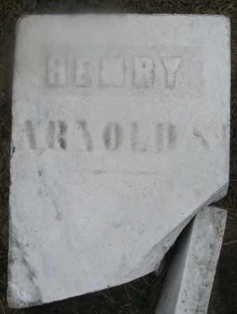 ARNOLD, HENRY SR. - Montgomery County, Ohio | HENRY SR. ARNOLD - Ohio Gravestone Photos