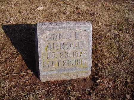ARNOLD, JOHN E. - Montgomery County, Ohio | JOHN E. ARNOLD - Ohio Gravestone Photos