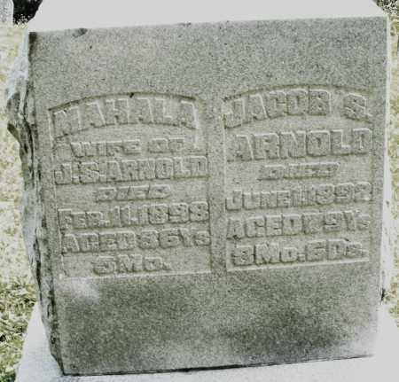 ARNOLD, JACOB S. - Montgomery County, Ohio | JACOB S. ARNOLD - Ohio Gravestone Photos