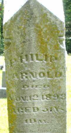 ARNOLD, PHILIP - Montgomery County, Ohio   PHILIP ARNOLD - Ohio Gravestone Photos