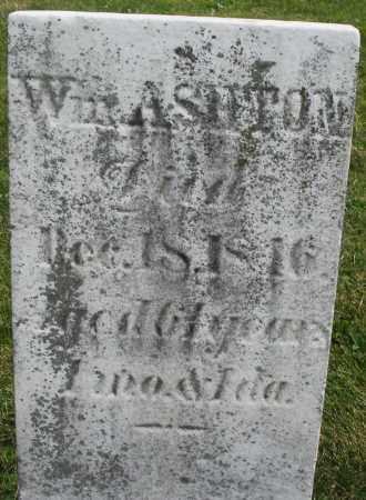 ASHTON, WILLIAM - Montgomery County, Ohio   WILLIAM ASHTON - Ohio Gravestone Photos