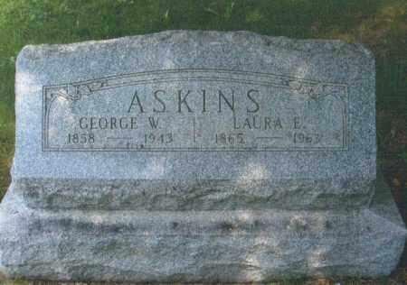 ASKINS, GEORGE W. - Montgomery County, Ohio   GEORGE W. ASKINS - Ohio Gravestone Photos