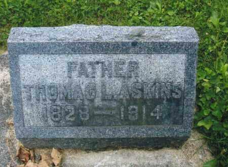 ASKINS, THOMAS LEONARD - Montgomery County, Ohio | THOMAS LEONARD ASKINS - Ohio Gravestone Photos