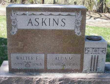 ASKINS, ALDA M. - Montgomery County, Ohio | ALDA M. ASKINS - Ohio Gravestone Photos