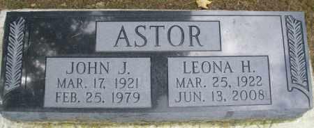 ASTOR, LEONA H. - Montgomery County, Ohio | LEONA H. ASTOR - Ohio Gravestone Photos