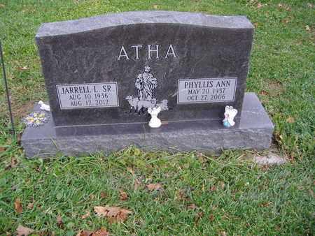 ATHA, JARRELL L., SR - Montgomery County, Ohio | JARRELL L., SR ATHA - Ohio Gravestone Photos