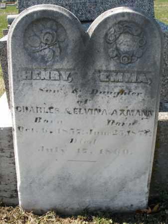 AXMANN, HENRY - Montgomery County, Ohio | HENRY AXMANN - Ohio Gravestone Photos