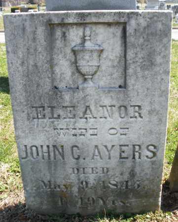 AYERS, ELEANOR - Montgomery County, Ohio | ELEANOR AYERS - Ohio Gravestone Photos