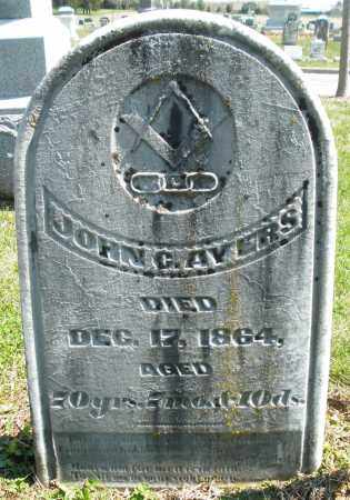 AYERS, JOHN C. - Montgomery County, Ohio   JOHN C. AYERS - Ohio Gravestone Photos