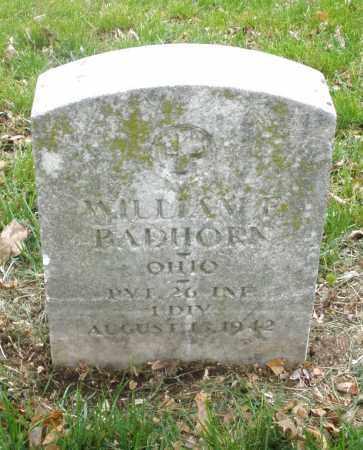 BADHORN, WILLIAM - Montgomery County, Ohio | WILLIAM BADHORN - Ohio Gravestone Photos