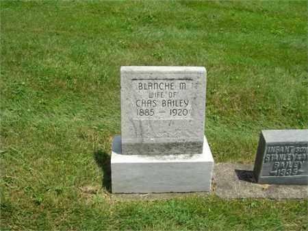 BAILEY, BLANCHE - Montgomery County, Ohio | BLANCHE BAILEY - Ohio Gravestone Photos