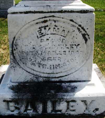 BAILEY, EMMA - Montgomery County, Ohio | EMMA BAILEY - Ohio Gravestone Photos