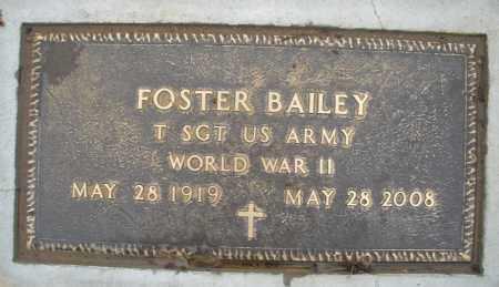 BAILEY, FOSTER - Montgomery County, Ohio   FOSTER BAILEY - Ohio Gravestone Photos