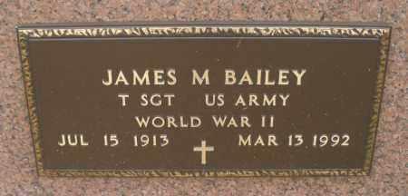 BAILEY, JAMES M. - Montgomery County, Ohio   JAMES M. BAILEY - Ohio Gravestone Photos