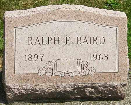BAIRD, RALPH - Montgomery County, Ohio   RALPH BAIRD - Ohio Gravestone Photos