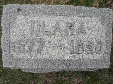 BAKER, CLARA - Montgomery County, Ohio | CLARA BAKER - Ohio Gravestone Photos
