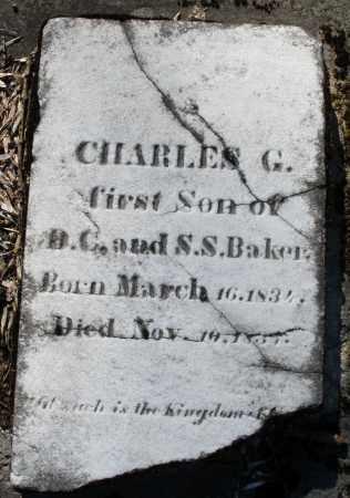 BAKER, CHARLES G. - Montgomery County, Ohio | CHARLES G. BAKER - Ohio Gravestone Photos