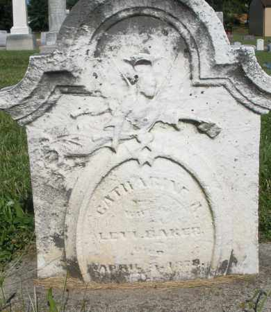 BAKER, CATHARINE - Montgomery County, Ohio | CATHARINE BAKER - Ohio Gravestone Photos