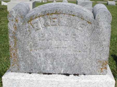 BAKER, EMELINE - Montgomery County, Ohio   EMELINE BAKER - Ohio Gravestone Photos