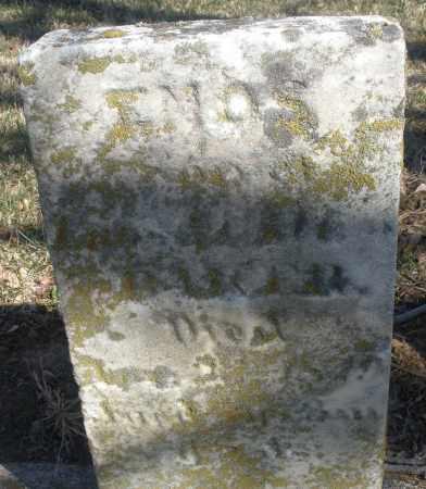 BAKER, ENOS - Montgomery County, Ohio   ENOS BAKER - Ohio Gravestone Photos