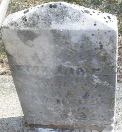 BAKER, EMALINE - Montgomery County, Ohio   EMALINE BAKER - Ohio Gravestone Photos