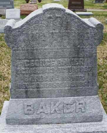 BAKER, BARBARA - Montgomery County, Ohio   BARBARA BAKER - Ohio Gravestone Photos