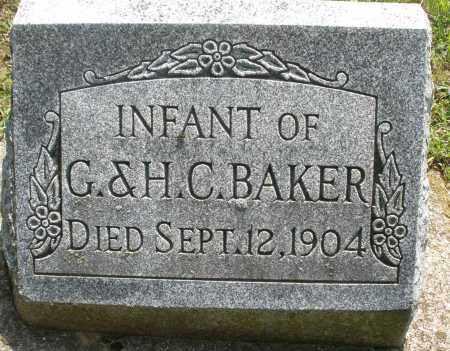BAKER, INFANT - Montgomery County, Ohio   INFANT BAKER - Ohio Gravestone Photos