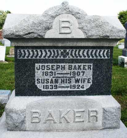 BAKER, SUSAN - Montgomery County, Ohio | SUSAN BAKER - Ohio Gravestone Photos