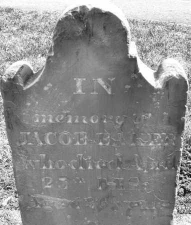 BAKER, JACOB - Montgomery County, Ohio   JACOB BAKER - Ohio Gravestone Photos