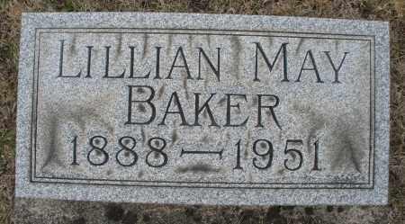 BAKER, LILLIAN MAY - Montgomery County, Ohio | LILLIAN MAY BAKER - Ohio Gravestone Photos