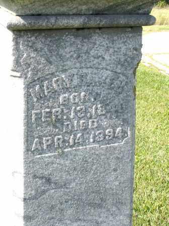 BAKER, MARY - Montgomery County, Ohio   MARY BAKER - Ohio Gravestone Photos